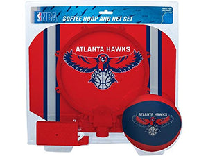 NBA Atlanta Hawks Slam Dunk Softee Hoop Set