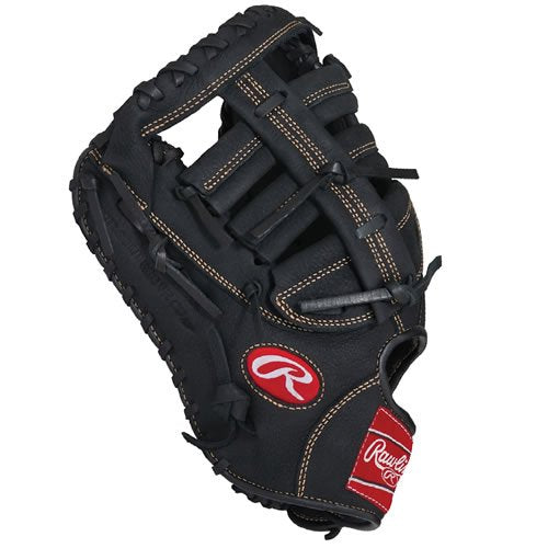 Rawlings Renegade Series Baseball First Base Mitt, Right Hand, Single-Post Double-Bar Web, 12-1/2 Inch