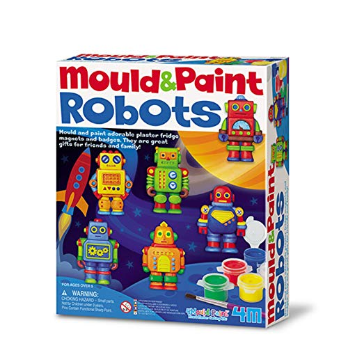4M Mould and Paint Robots