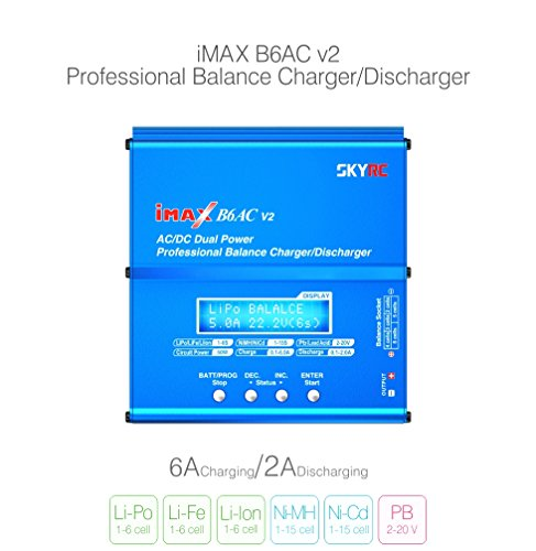 Genuine SKYRC iMAX B6AC V2 AC/DC Dual Power Professional LiPo Battery Balance Charger/Discharger
