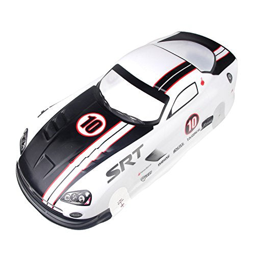 Coolplay 1/10 PVC On Road Drift Car Body Shell RC Racing Accessories Dodge Viper SRT10 ACR-X (White)