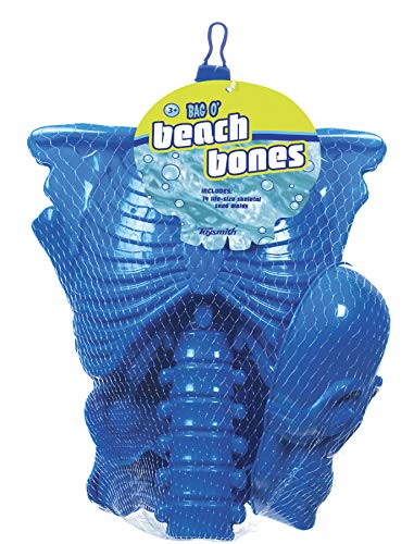 Toysmith Get Outside GO! Bag O' Beach Bones Playset