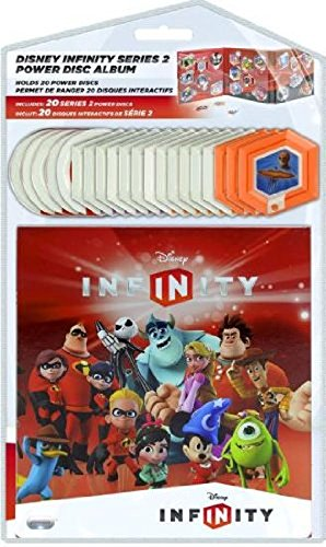 Disney Infinity - Series 2 Power Discs - Complete Set with Album Case