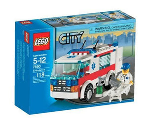 LEGO City Emergency Ambulance (7890)
