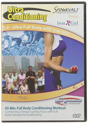 Spinervals Ultra Conditioning Series 3.0 Full Body with Iron Girl DVD