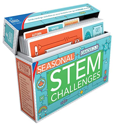 Carson Dellosa Seasonal STEM Challenges Learning Cards (140351)