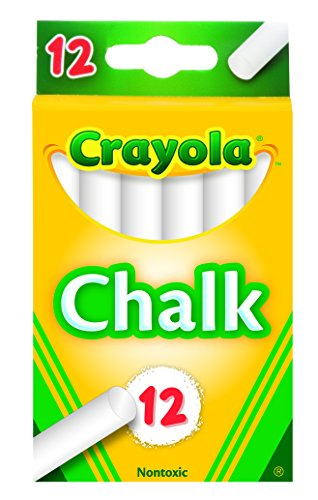 Crayola (51-0320) White Chalk 12 each