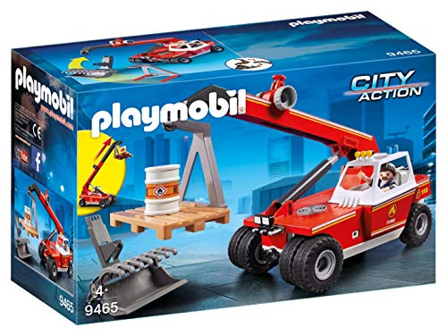 PLAYMOBIL Fire Crane