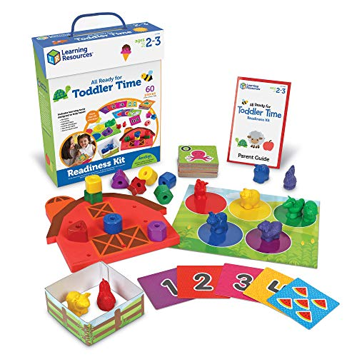 Learning Resources All Ready For Toddler Time Activity Set, Counting, Sorting, Homeschool, 22 Pieces, Ages 2+