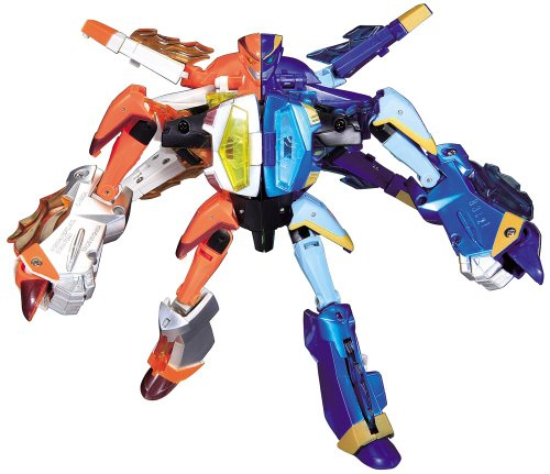 Japanese Transformers Animated - Safeguard Set