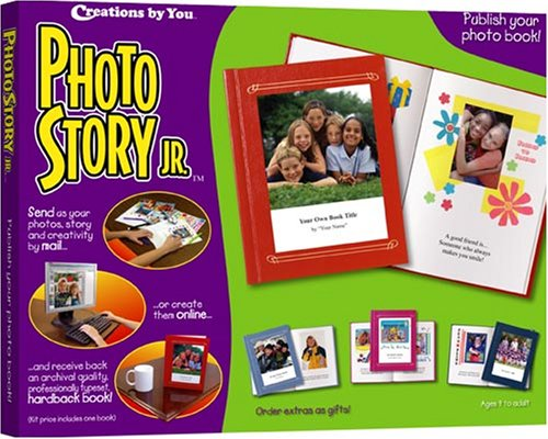 Creations by You Photo Story Jr.:  Publish Your own Keepsake Photo Book!