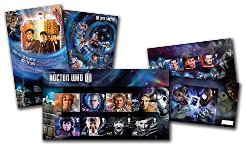 Doctor Who 50th Anniversary Royal Mail Stamp Presentation Pack