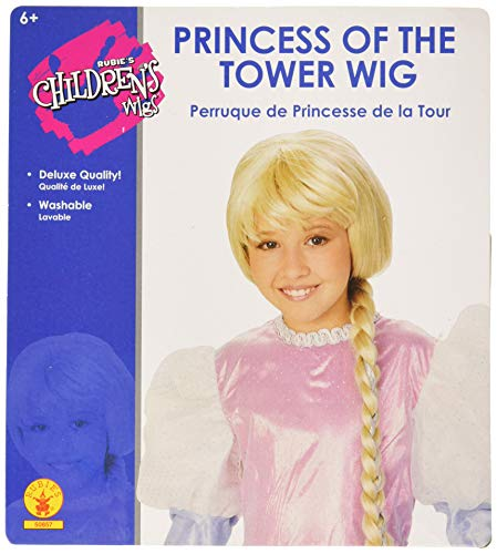 Rubie's Costume Child's Princess of the Tower Wig