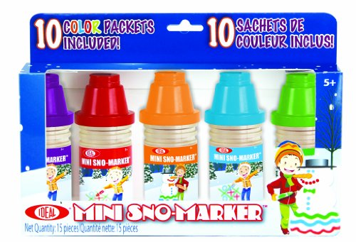Ideal Mini Sno Markers Kids Outdoor Snow Activity