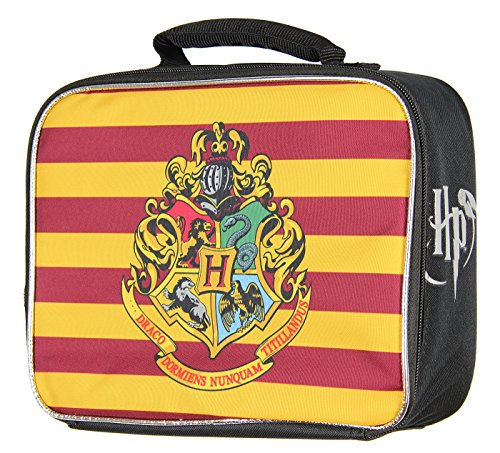 Harry Potter Hogwarts Crest Insulated Lunch Box - Kids Lunchbox Tote