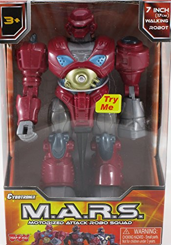 M.A.R.S. Motorized Attack Robo Squad - Red Robot
