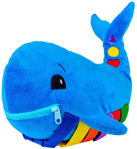 Buckle Toys - Blu Whale