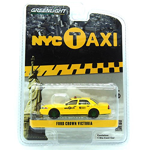 Greenlight 1:64 Hobby Exclusive - 2011 Ford Crown Victoria - New York City (NYC) Taxi