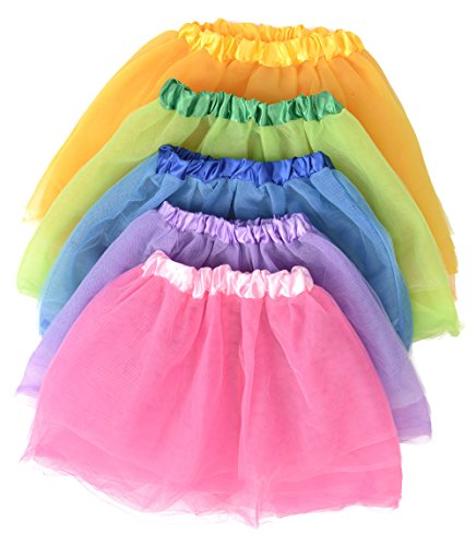 Kangaroo's Princess Tutu Collection; (5-Pack) Ballet Tutus