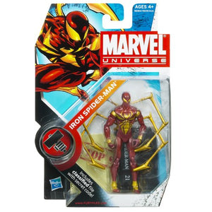 Marvel Universe 3 3/4 Inch Series 2 Action Figure #21 Iron SpiderMan