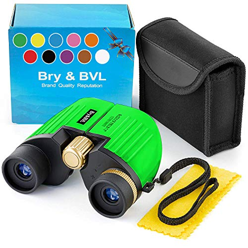 Toys for 4 Year Old Boys – 8X22 Binoculars for Boys, Girls - Shockproof – Boys Toys Age 3 4 5 6 7 – Birthday Present – Holiday Toy List 2020 for Boys with High Resolution (Green)