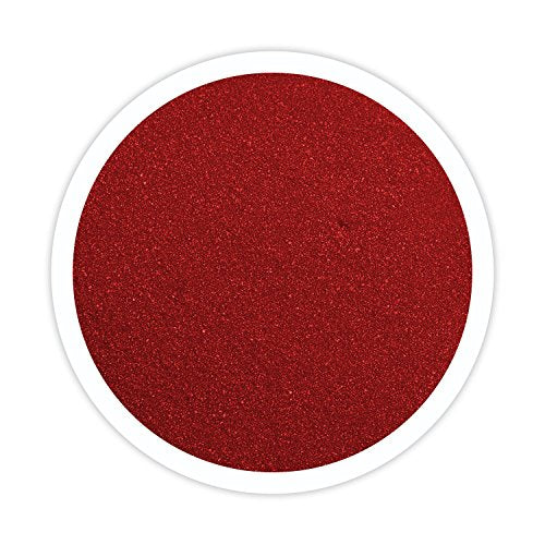 Sandsational Apple Red Unity Sand~1.5 lbs (22 oz), Red Colored Sand for Weddings, Vase Filler, Home D�cor, Craft Sand