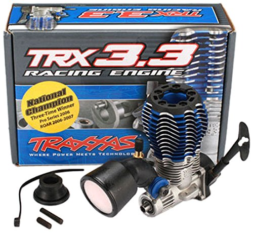 Traxxas 5409 TRX 3.3 Engine Multi-Shaft with Recoil Starter