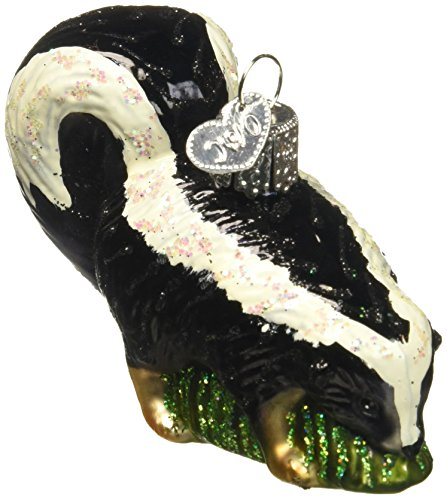 Old World Christmas Skunk Glass Blown Ornament