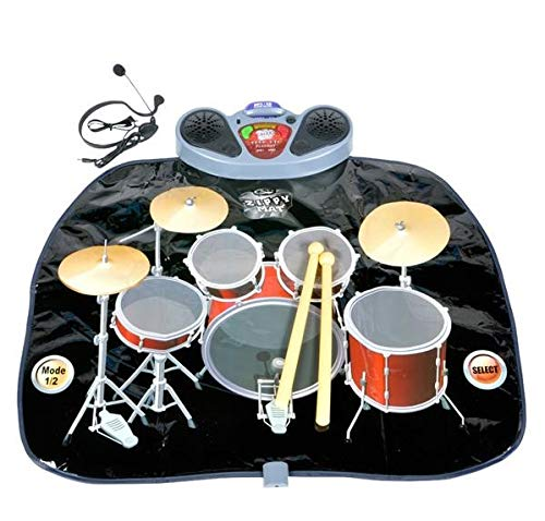 Rhode Island Novelty Giant Electronic Drum Kit Set Floor Play Mat