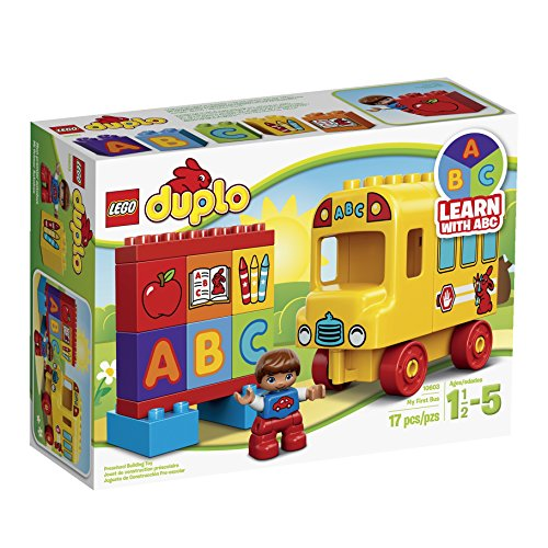 LEGO DUPLO My First Bus (School Bus) Building Set (10603)