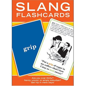 Knock Knock Slang Flashcards Party Game - 60 Cards
