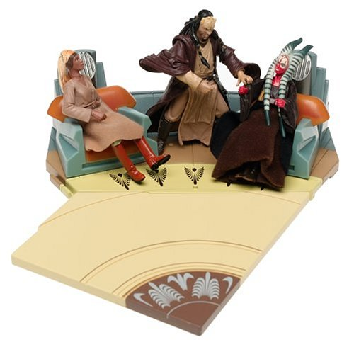Star Wars Jedi Council 3 Figure Set & Chambers by Hasbro