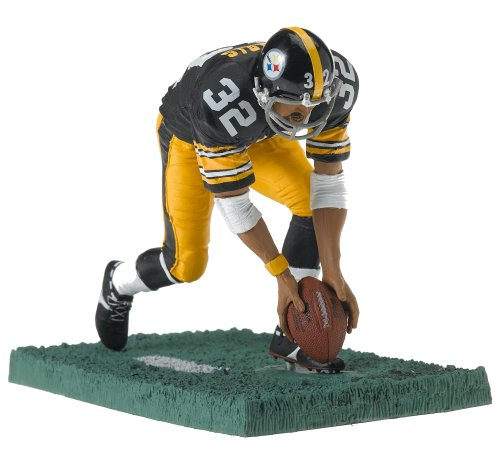 McFarlane Toys NFL Sports Picks Series 1 Legends Action Figure Franco Harris (Pittsburgh Steelers) Black Jersey
