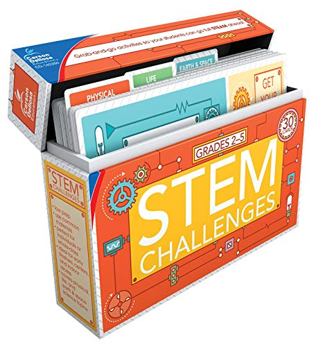 Carson Dellosa STEM Challenges Learning Cards (140350),Multi