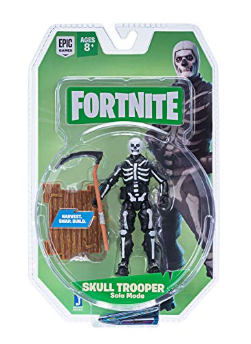 Fortnite Solo Mode Core Figure Pack, Skull Trooper