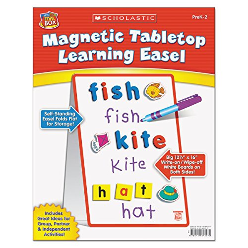 Scholastic Magnetic Tabletop Learning Easel, Ages 4-7 (SHSSC989357)