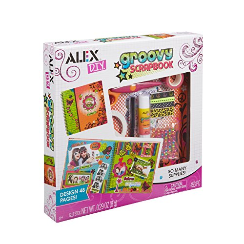 Alex Craft Groovy Scrapbook Kids Art and Craft Activity
