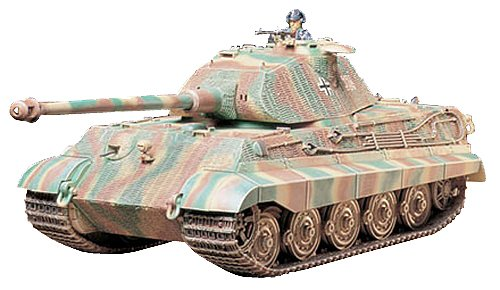 Tamiya Models King Tiger (Porsche Turret)