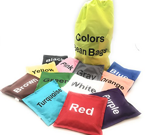 Oojami Colors Bean Bags Assorted 12 pc 5