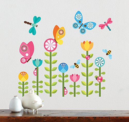 Petit Collage Wall Decal, Butterflies