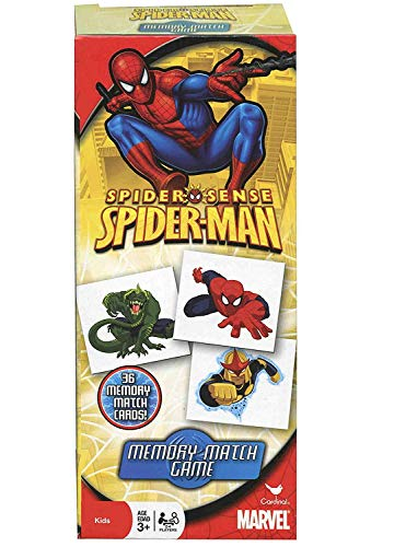 1 X Marvel Spiderman Memory Match Game