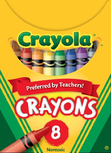 Crayola Classic Color Pack Crayons, Tuck Box, 8 Colors