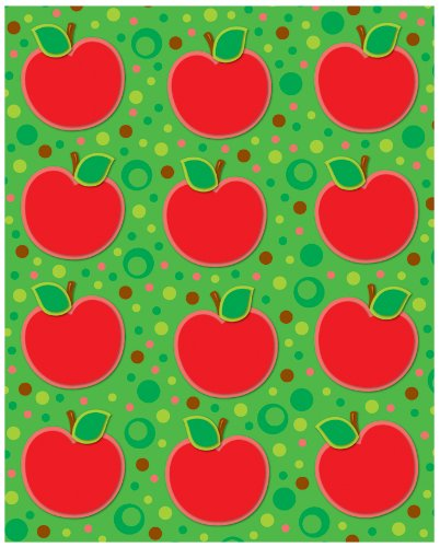 Carson Dellosa – Apples Shape Stickers, Fall Classroom Décor, 72 Count