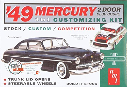 AMT 1949 Mercury Club Coupe 1/25 Scale Model Car Kit
