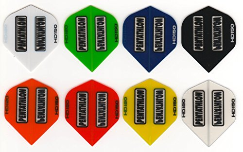 3 Sets of Standard Size Pentathlon HD150 Dart Flights (3 Different Sets)