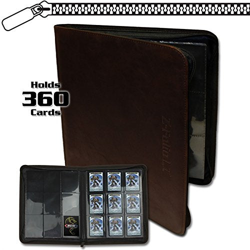9-Pocket Z-Folio, LT Brown
