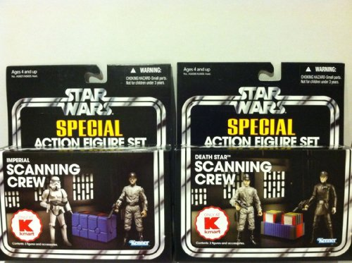 Star Wars Special Action Figure Set Imperial Scanning Crew Only Available at K Mart by Hasbro