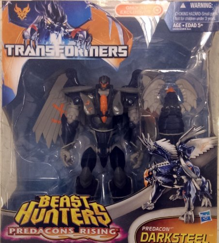 Transformers Prime Hunters Darksteel Predacons Rising Voyager Class figure