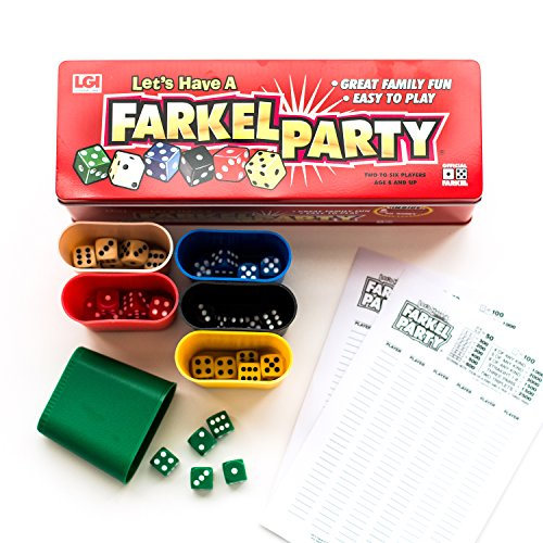 Farkel Party Game - Classic Family Dice Game