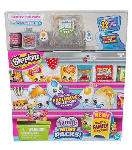Shopkins New Families in Collectible Mini Pack - 22Piece
